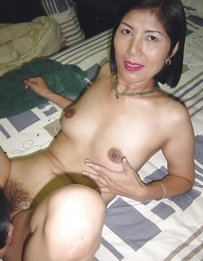 An Asian Mature and (Asian) Granny going at it!.