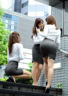 Asian girls: Office pictures