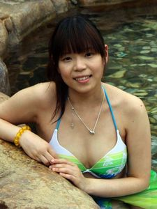 Showimg my body in bikini.