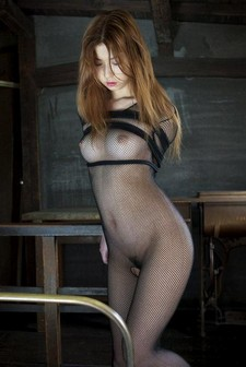 ASian girl on BDSM picture