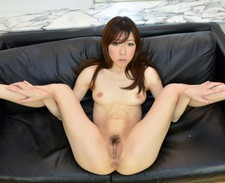 Asian MILF show bush.