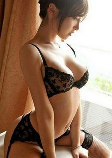 Lovely asian lace in a awesome pic.