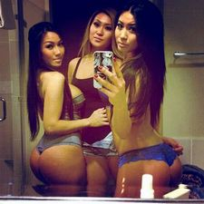 Triple asian threat.
