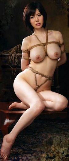 Fabulous asian in this hot homemade bdsm pic.