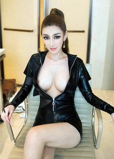 Sexy asian big boobs in this picture.